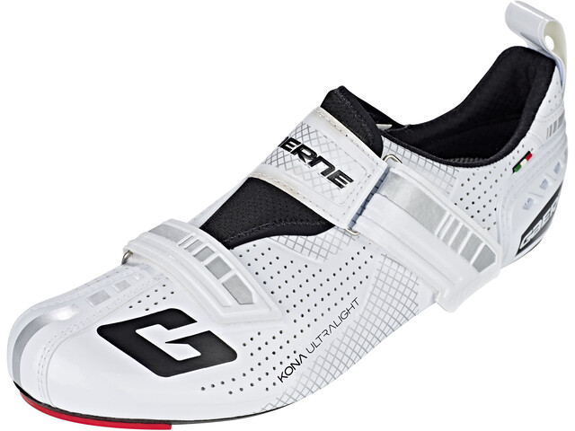 Gaerne Carbon G.Kona Triathlon Cycling Shoes Herr white